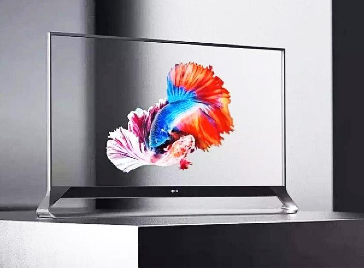 OLED透明屏幕显示